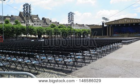 Stage And Chairs