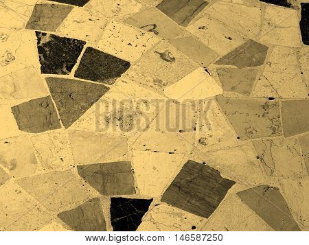 Floor Picture Sepia