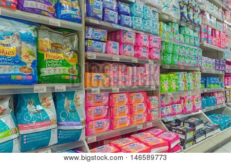 Many Types Of Sanitary Napkin For Menstruation