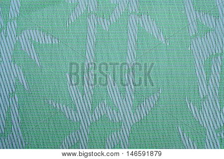 Kitchen napkin in the form of wattled gunny