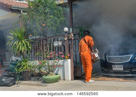 Fogging Ddt Spray Kill Mosquito