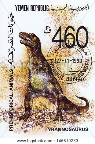 Yemen Republic - Circa 1990