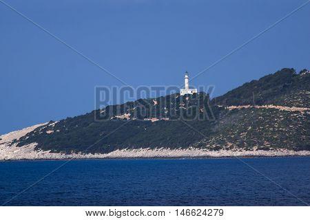 Lefkada cape near village of Vasiliki, Ionian Islands, Greece
