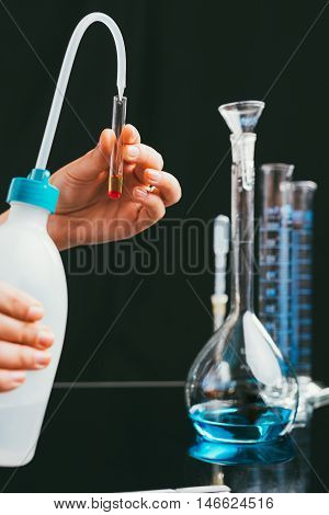 Laboratory research analysis of samples in plates and tubes