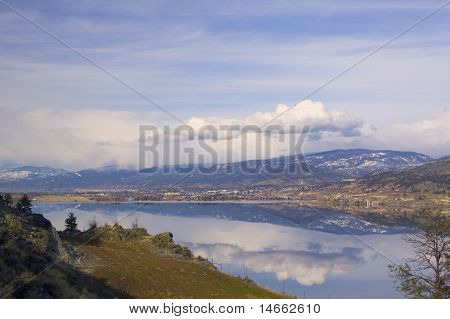 Landscape Of Penticton, British Columbia