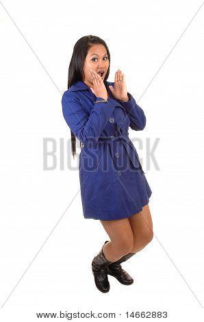 Girl In Coat.