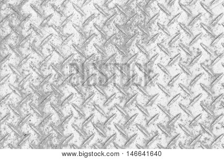 Metal diamond plate pattern and background seamless