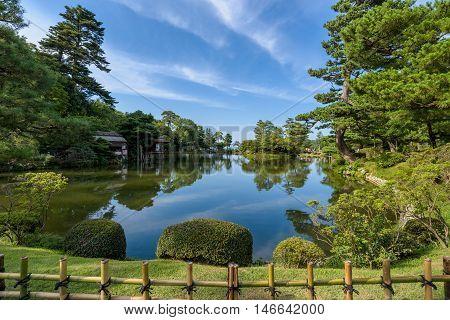 Kenroku-en Japanese style Garden Kanazawa Ishikawa Japan