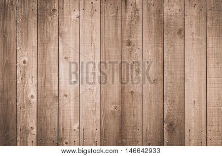 Wood fence Brown wood background Brown natural wood wall texture and background seamless
