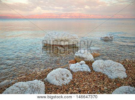 Dead Sea coastline, Israel