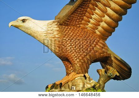 Eagle Sculpture In Kuah Town, Langkawi, Malaysia