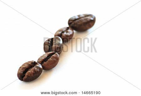 Coffee Beans (5) - Little Deep Of Field