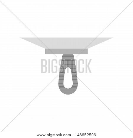 Putty knife spatula illustration on the white background. Vector illustration