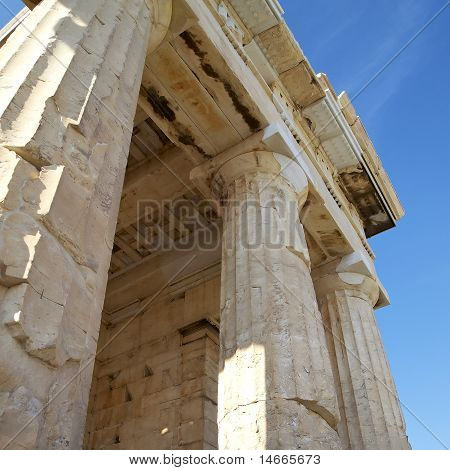Detail of the Propylaea Acropolis
