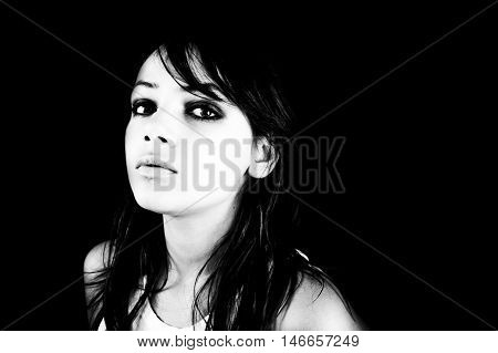 Moody Teen Portrait