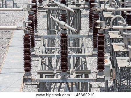 115 kv disconnecthing switch in sub station