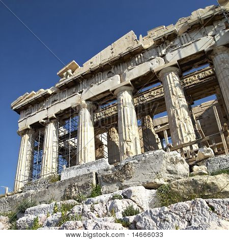 a view of Parthenon, Acropolis