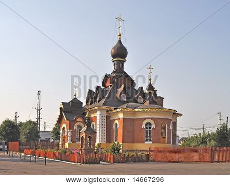Seraph Church In Alexandrov Town, Russia