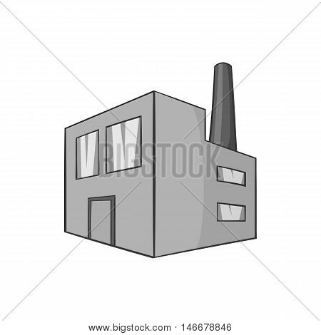 Building control quality of beer icon in black monochrome style isolated on white background. Production of beer symbol vector illustration