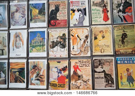 Collections Of Vintage Postcards
