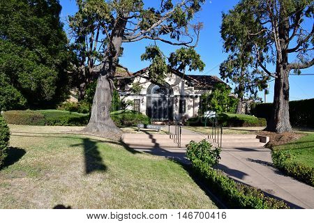 San Luis Obispo USA - july 14 2016 : the picturesque city in summer