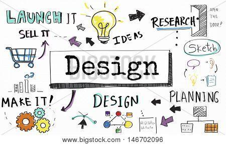 Design Ideas Create Planning Vision Concept