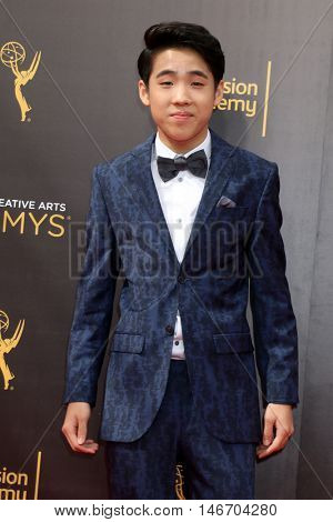 LOS ANGELES - SEP 10:  Lance Lim at the 2016 Creative Arts Emmy Awards - Day 1 - Arrivals at the Microsoft Theater on September 10, 2016 in Los Angeles, CA