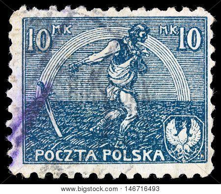 Poland - Circa 1936