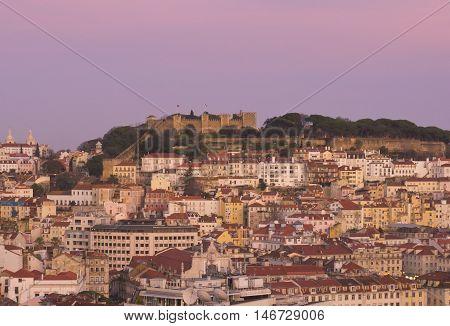 Castelho Sao Jorge ( Castle St George ) Lisbon Portugal