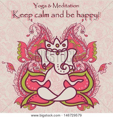 Meditation Ganesha2.eps