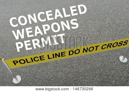 Concealed Weapons Permit Concept