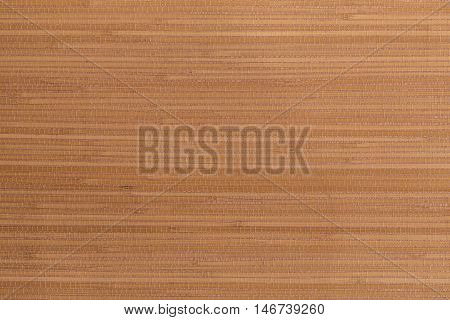 Background, texture bamboo mat of brown color