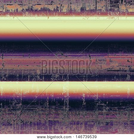 Colorful grunge background, tinted vintage style texture. With different color patterns: yellow (beige); gray; red (orange); purple (violet); black; pink