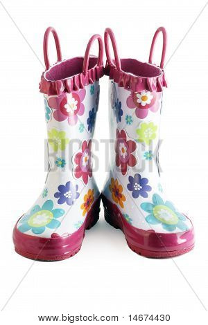 Little Girl Gumboots
