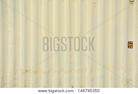 Warm white container texture with background for decorate