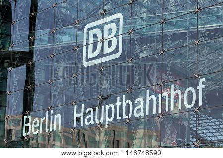 German Railway Logo