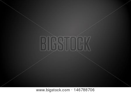 black gradient abstract background / dark tone