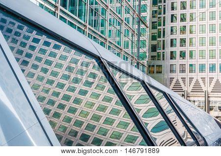 Canary Wharf Pedestrian Bridge