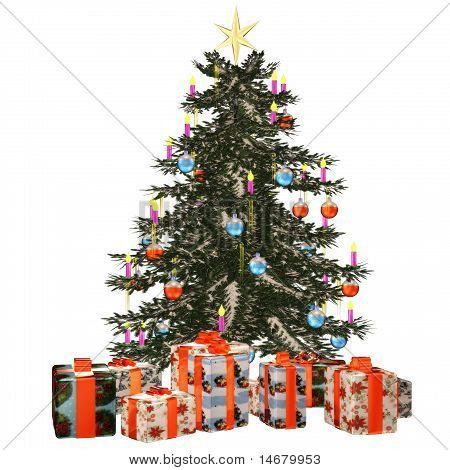 Christmastree with präsent 1