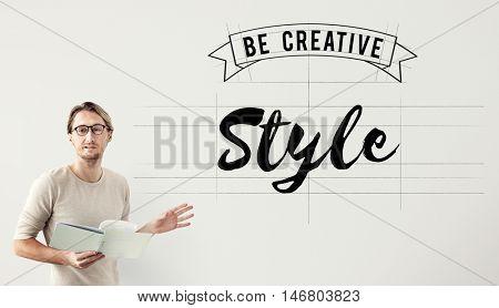 Style Design Elegant Interior Posh Trendy Vogue Concept