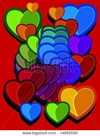Hearts Cartoon