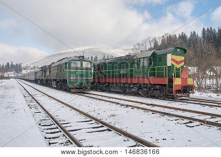 Old Diesel Passenger Trains