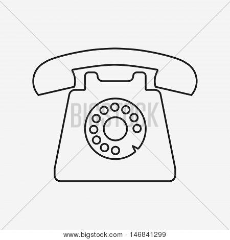 Retro Styled Telephone