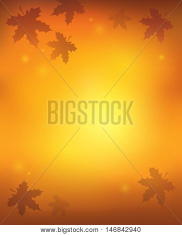 Autumn abstract background 1 - eps10 vector illustration.