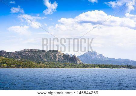 Landscape Near Cannigione, Sardinia