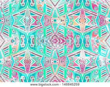 Abstract background. Modern urban wallpaper. Geometric creative science ornament. Cosmic elements. Vector grunge art texture.