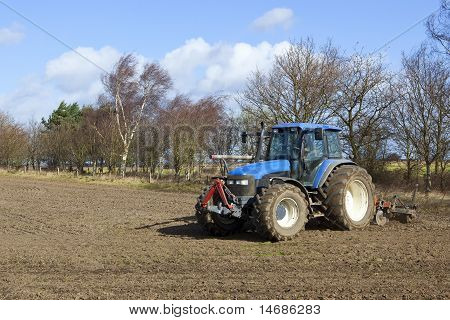 Tractor Cultivating