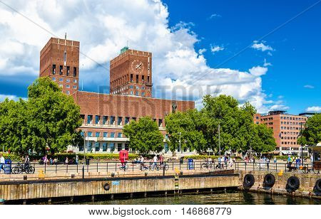 View of the Oslo City Hall - Norway