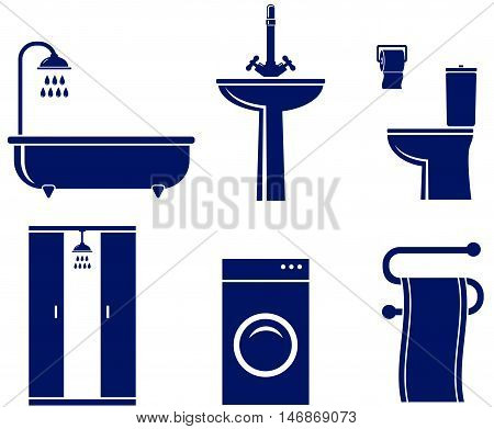 Set Of Isolated Bath Objects