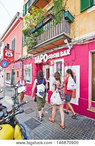 Japo Sushi Bar Front Entrance